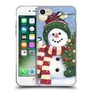 Official Christmas Mix Snowman William Vanderdasson Holding Soft Gel Case for Apple iPhone 7