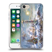 Official Christmas Mix Winter Wonderland Nicky Boehme Lighthouse Merriment Soft Gel Case for Apple iPhone 7