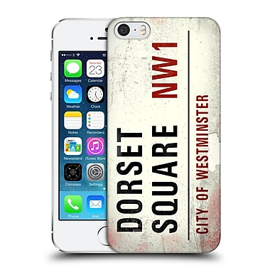 Official City Of Westminster Vintage Street Signs Dorset Square Hard Back Case For Apple Iphone 5 / 5S / Se