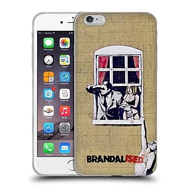 Official Brandalised Banksy Graffiti Hanging Man Soft Gel Case For Apple Iphone 6 Plus / 6S Plus