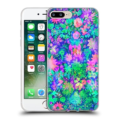 Official Amy Sia Floral Fluro Soft Gel Case For Apple Iphone 7 Plus