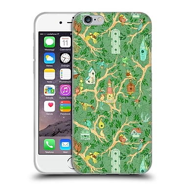 Official Anne Lambelet Patterns Birdhouse Soft Gel Case For Apple Iphone 6 / 6S