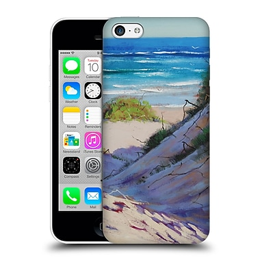 Official Graham Gercken Summer Beach Painting Hard Back Case For Apple Iphone 5C