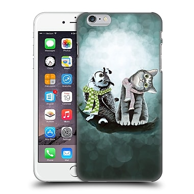 Official Tummeow Cats 2 Owl Hard Back Case For Apple Iphone 6 Plus / 6S Plus