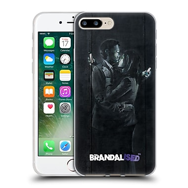 Official Brandalised Banksy Tags Mobile Phone Lovers Soft Gel Case For Apple Iphone 7 Plus