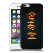 Official Def Leppard Logo Iconic Soft Gel Case for Apple iPhone 6 / 6s