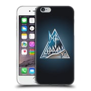 Official Def Leppard Logo Triangle Soft Gel Case for Apple iPhone 6 / 6s