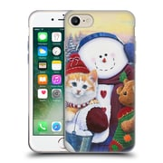 Official Christmas Mix Pets Jenny Newland Winter Wonder Pals Soft Gel Case for Apple iPhone 7
