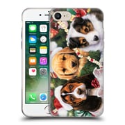 Official Christmas Mix Pets Jenny Newland Puppy Surprise Soft Gel Case for Apple iPhone 7