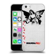 Official Brandalised Banksy Textured Art Angel Hearts Soft Gel Case For Apple Iphone 5C