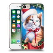 Official Christmas Mix Pets Jenny Newland Kitty Soft Gel Case for Apple iPhone 7