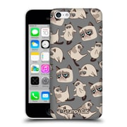 Official Grumpy Cat Grumpmoji Pattern 2 Hard Back Case For Apple Iphone 5C