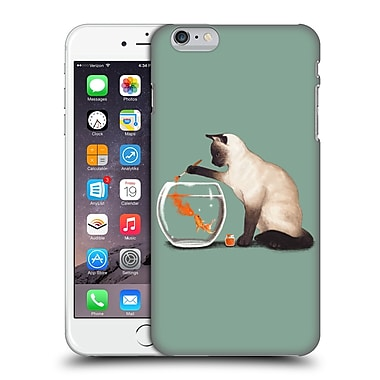 Official Tummeow Cats 4 Goldfish Need Friend Hard Back Case For Apple Iphone 6 Plus / 6S Plus