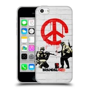 Official Brandalised Banksy Textured Art Soldiers Soft Gel Case For Apple Iphone 5C