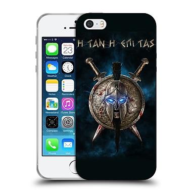 Official Christos Karapanos Horror 2 Spartan Soft Gel Case for Apple iPhone 5 / 5s / SE