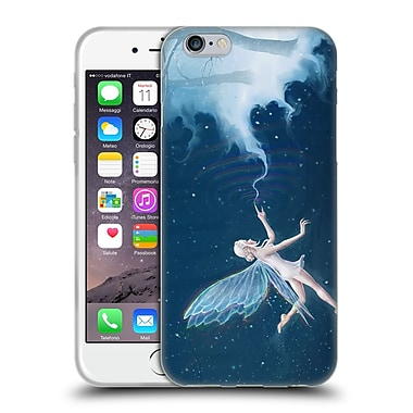Official Christos Karapanos Fantasy Creatures Faerie Of Winter Soft Gel Case for Apple iPhone 6 / 6s