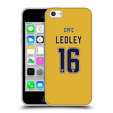 Official Crystal Palace FC 2016/17 Players Away Kit Joe Ledley Soft Gel Case for Apple iPhone 5c