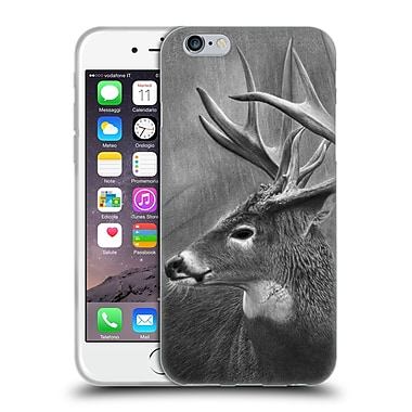 Official Chuck Black DEER FAMILY Rainy Days Soft Gel Case for Apple iPhone 6 / 6s