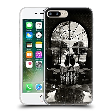 Official Ali Gulec The Message 2 Room Skull Soft Gel Case For Apple Iphone 7 Plus