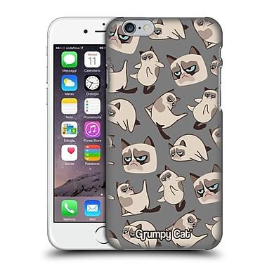 Official Grumpy Cat Grumpmoji Pattern 2 Hard Back Case For Apple Iphone 6 / 6S