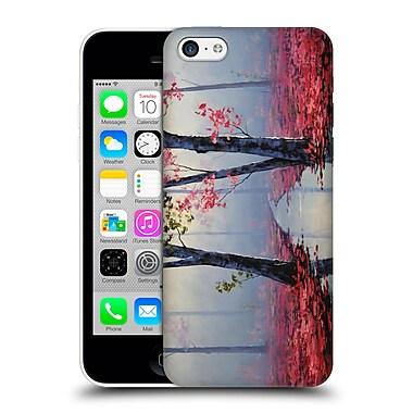 Official Graham Gercken Trees Misty Pink Hard Back Case For Apple Iphone 5C