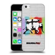 Official Brandalised Banksy Textured Art Heavy Artillery Soft Gel Case For Apple Iphone 5C