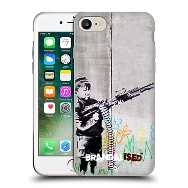 Official Brandalised Banksy Vandals Crayon Shooter Soft Gel Case For Apple Iphone 7