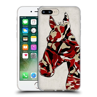 Official Angelo Cerantola Animals Camouflage Horse Soft Gel Case For Apple Iphone 7 Plus