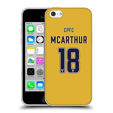 Official Crystal Palace FC 2016/17 Players Away Kit James Mcarthur Soft Gel Case for Apple iPhone 5c