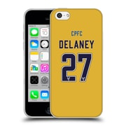 Official Crystal Palace FC 2016/17 Players Away Kit Damien Delaney Soft Gel Case for Apple iPhone 5c
