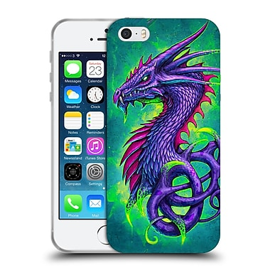 Official Christos Karapanos Dragons Poison Soft Gel Case for Apple iPhone 5 / 5s / SE