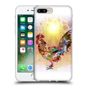 Official Angelo Cerantola Animals Rise And Shine Soft Gel Case For Apple Iphone 7 Plus