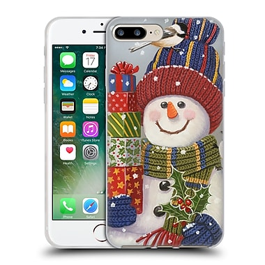 Official Christmas Mix Snowman William Vanderdasson Presents Soft Gel Case for Apple iPhone 7 Plus