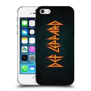 Official Def Leppard Logo Iconic Soft Gel Case for Apple iPhone 5 / 5s / SE