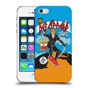 Official Def Leppard Design Women Of Doom Soft Gel Case for Apple iPhone 5 / 5s / SE