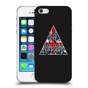 Official Def Leppard Design Target Union Jack Soft Gel Case for Apple iPhone 5 / 5s / SE