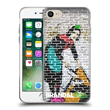 Official Brandalised Banksy Coloured Art Camden Maid Soft Gel Case For Apple Iphone 7