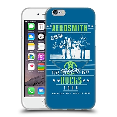 Official Aerosmith Tour Rocks Soft Gel Case For Apple Iphone 6 / 6S