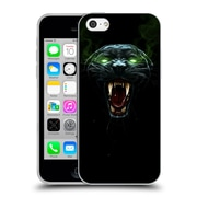 Official Christos Karapanos Horror 2 Black Panther Soft Gel Case for Apple iPhone 5c