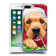 Official Christmas Mix Pets Jenny Newland Santa? Soft Gel Case for Apple iPhone 7 Plus