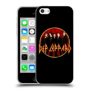 Official Def Leppard Design Photo Soft Gel Case for Apple iPhone 5c