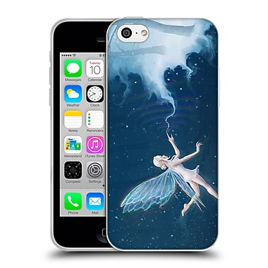 Official Christos Karapanos Fantasy Creatures Faerie Of Winter Soft Gel Case for Apple iPhone 5c
