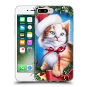 Official Christmas Mix Pets Jenny Newland Kitty Soft Gel Case for Apple iPhone 7 Plus