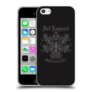 Official Def Leppard Design Sheffield 1977 Soft Gel Case for Apple iPhone 5c