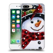 Official Christmas Mix Snowman William Vanderdasson Perched Soft Gel Case for Apple iPhone 7 Plus