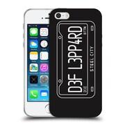 Official Def Leppard Design Steel City Soft Gel Case for Apple iPhone 5 / 5s / SE