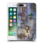 Official Christmas Mix Winter Wonderland Nicky Boehme Cottage 1 Soft Gel Case for Apple iPhone 7 Plus
