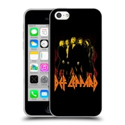 Official Def Leppard Design Group Soft Gel Case for Apple iPhone 5c