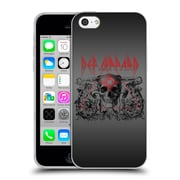 Official Def Leppard Design Skull Target Soft Gel Case for Apple iPhone 5c