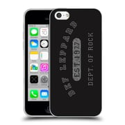Official Def Leppard Design Dept.Of Rock Soft Gel Case for Apple iPhone 5c